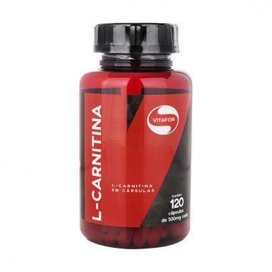 L-Carnitina - Vitafor - 120 cps
