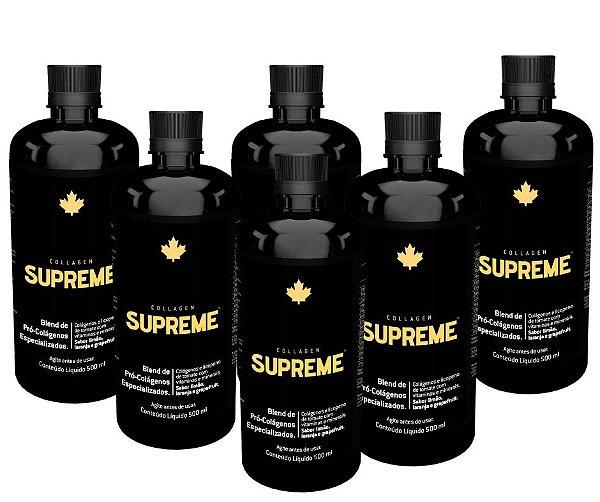KIT 06 Unidades - Collagen Supreme - Nutriscience - 500ml