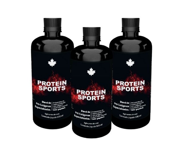 KIT 03 Unidades - Protein Sports - Nutriscience - 500ml