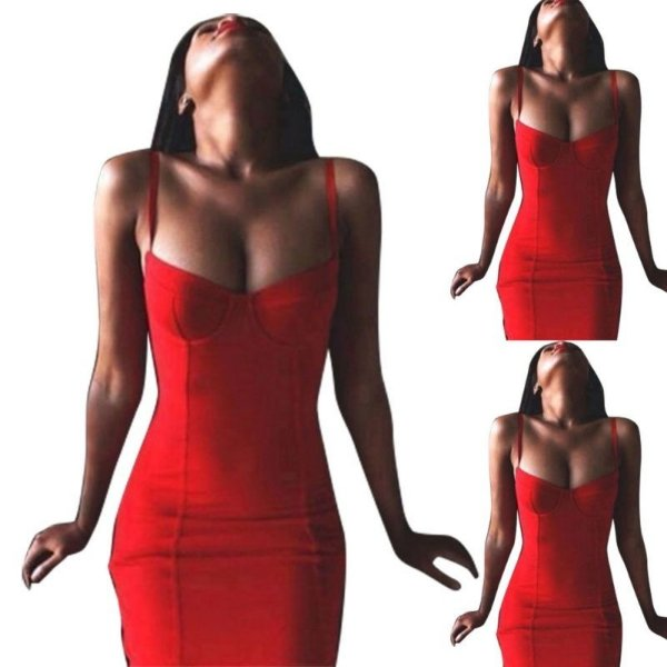 Vestido Slim Mini Dress