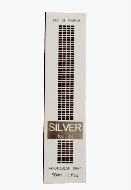 Perfume Masculino SILVER MEN (50ml) Inspirado em Silver Black