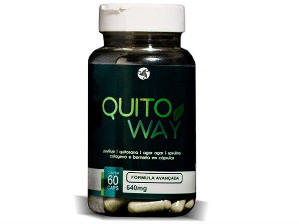 QuitoWay Suplemento Emagrecedor com Quitosana