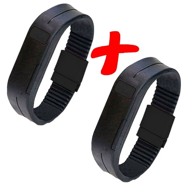 KIT 2 Pulseiras Magneticas Upower