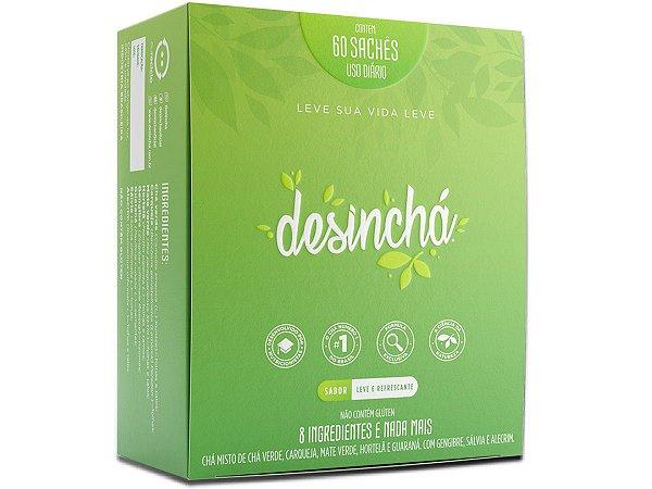 Desinchá Chá Original - 60 Sachês - Pronta Entrega