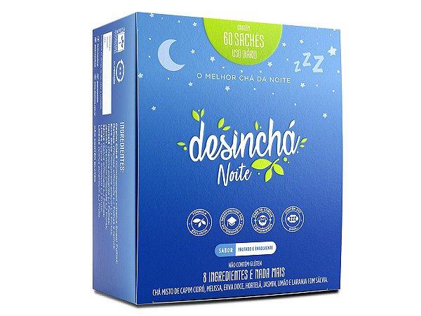 Desinchá Chá Noite Original - 60 Sachês - Pronta Entrega