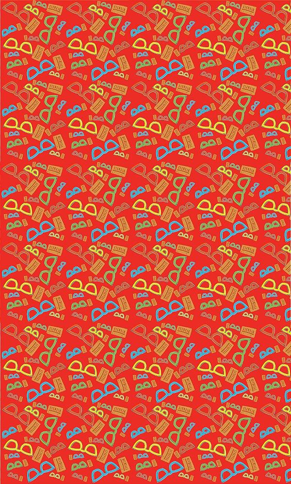Corte de Tecido de Revestimento de Sofá/Cadeira Modelo: Bls I cor Vermelho