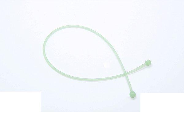 CORRENTE SICUREZZA SILICONE Modelo: BALL JÚNIOR cor Verde Bebê