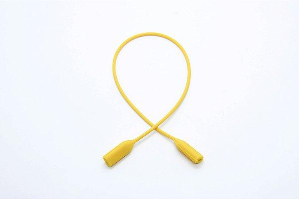 CORRENTE SICUREZZA SILICONE Modelo: GRIP2 JÚNIOR cor Amarelo