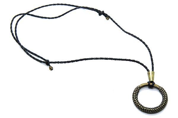 PINGENTE RÚSTICO Modelo: GRECO cor Bronze