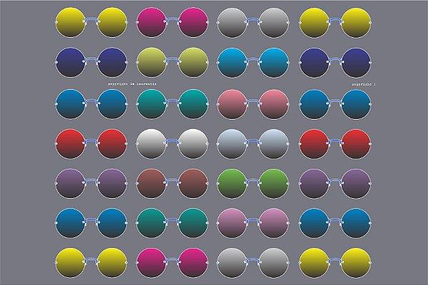 MICROFIBRA Limpeza Customizada Modelo: Bolinha cor Cinza