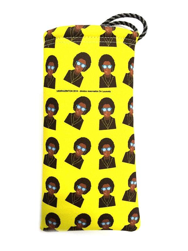 ESTOJO Neoprene Modelo: Usdra Black Power cor Amarelo