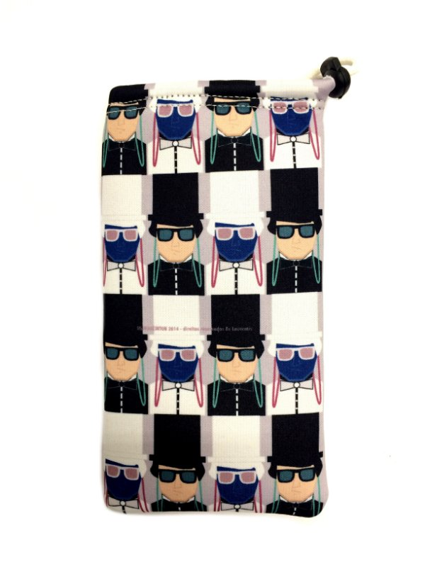ESTOJO Neoprene Modelo: Usdra Black Tie cor Preto