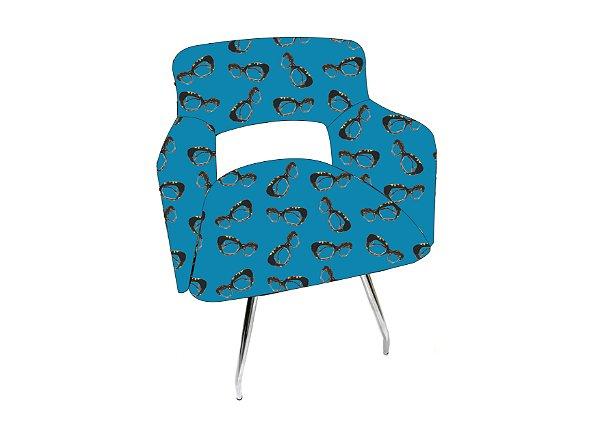 CADEIRA Revestida_1 Lugar Modelo: Balen cor Azul