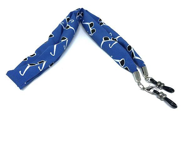 CORRENTE TECIDO G Modelo: STRACIATTINA cor Azul