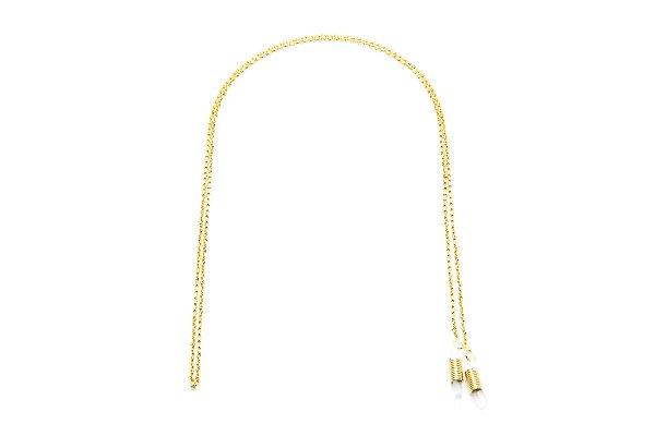 CORRENTE Metal Modelo A 129 Cor Ouro