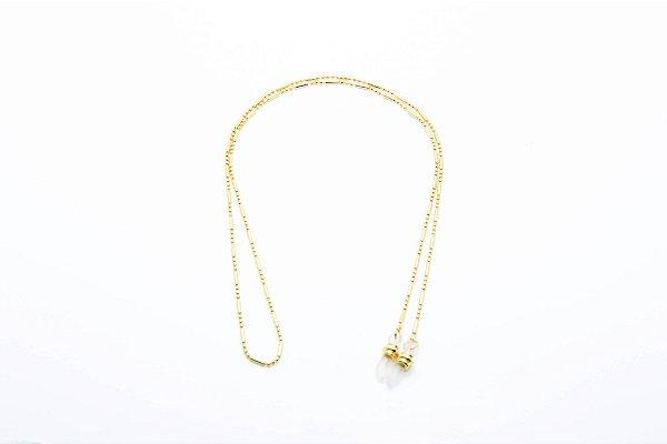 CORRENTE Metal Modelo: C-484 cor Ouro