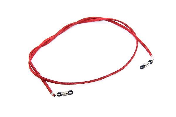 CORRENTE Modelo: CORDÃO CAMURÇA cor Vermelho