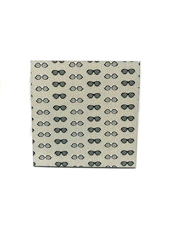 PORTA COPOS_Kit com 06 unids. Modelo: SIXTIES cor Cinza