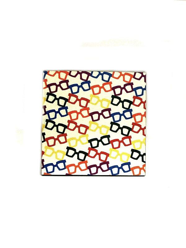 PORTA COPOS_Kit com 06 unids. Modelo: ARANDELA 1 cor Branco