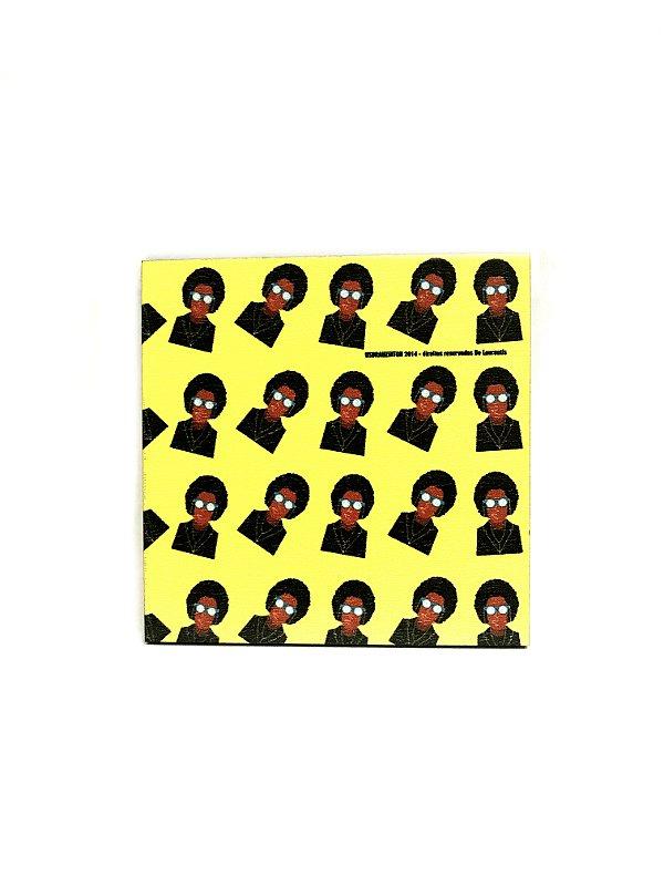 PORTA COPOS_Kit com 06 unids. Modelo: USDRA BLACK POWER cor Amarelo