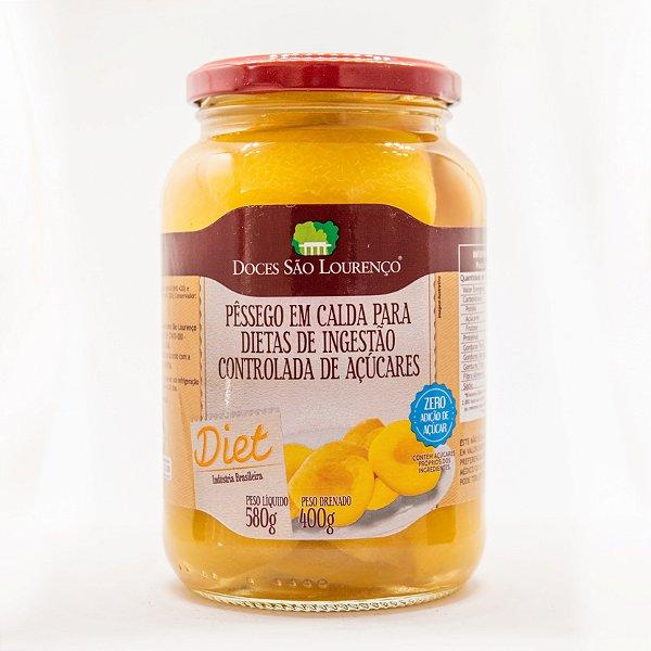 Pêssego em Calda Diet 580g