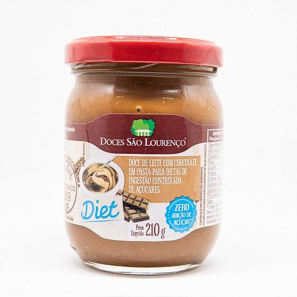 Doce de Leite com Chocolate Diet 210g