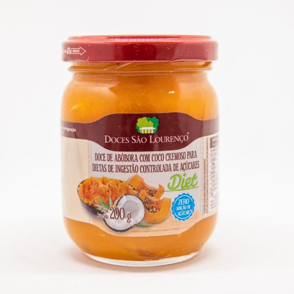 Creme de Abobora com Coco Diet 200g