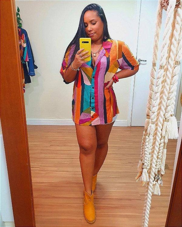 Camisa estampa Mimo Mimo Dress To