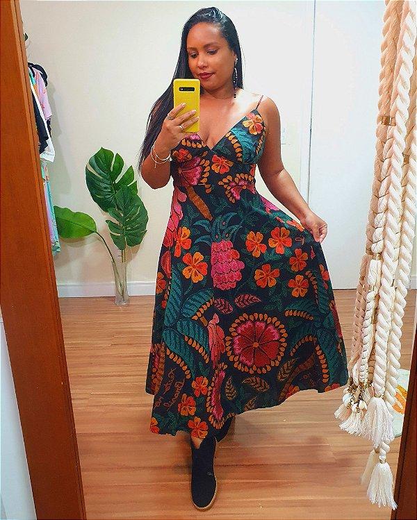 Vestido Cropped Brasil - Farm