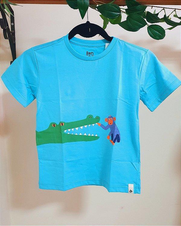 Camiseta Silk Amigos - Bento