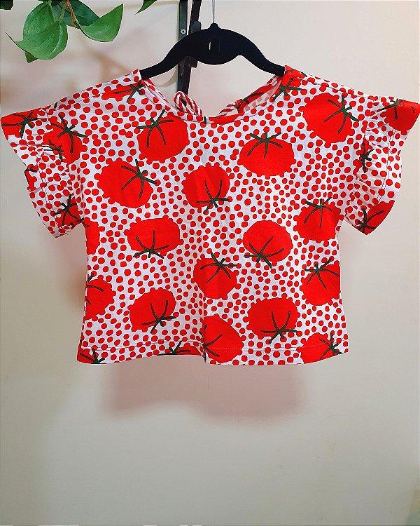Blusa Malha Tomatinhos - Fábula