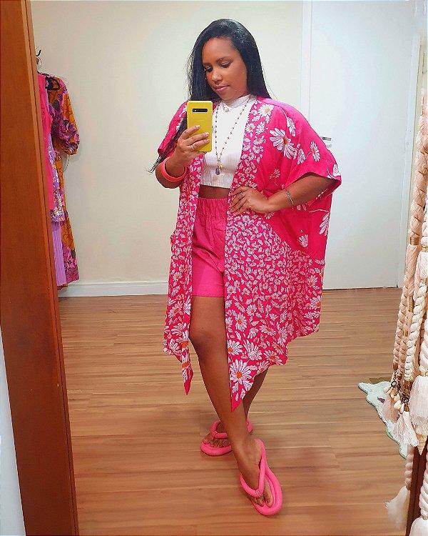 Kimono Estampa Bem Me Quer - Dress To