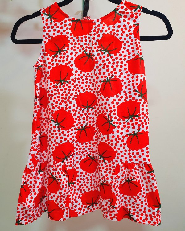 Vestido Malha Tomatinhos - Fábula