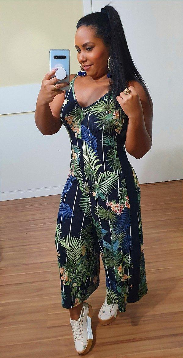 Macacão Dress to Estampa Ghaba