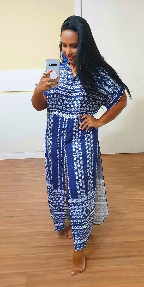 Camisão Dress to Estampa Ayser - Exclusiva de multimarca