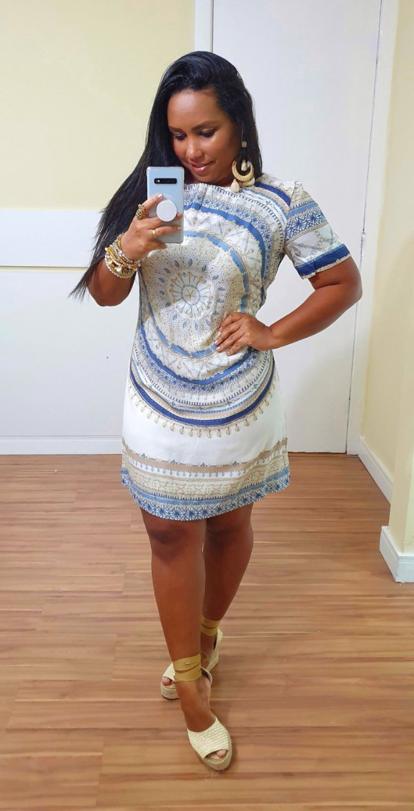 Vestido Dress to Estampa Maralto