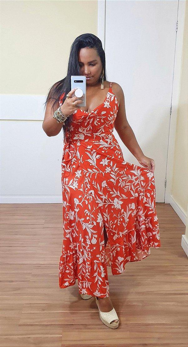 Vestido Dress to Midi Estampa Roma - Exclusivo de multimarcas
