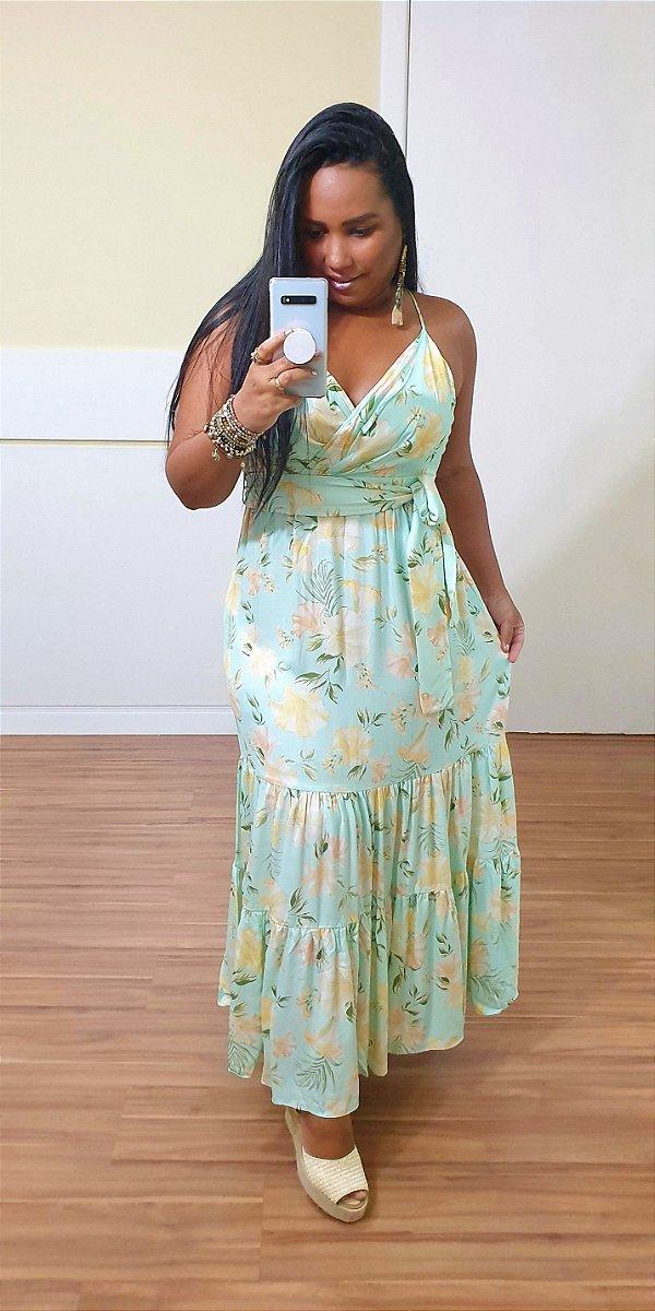 Vestido Dress to Longuete Estampa Respiro