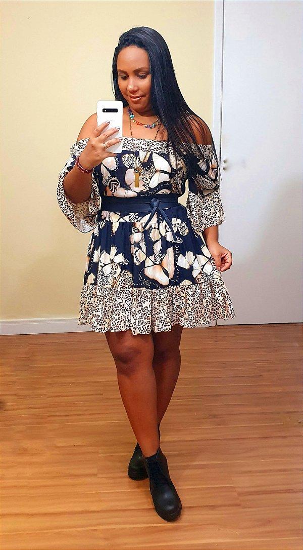 Vestido Dress to Estampa Papillon