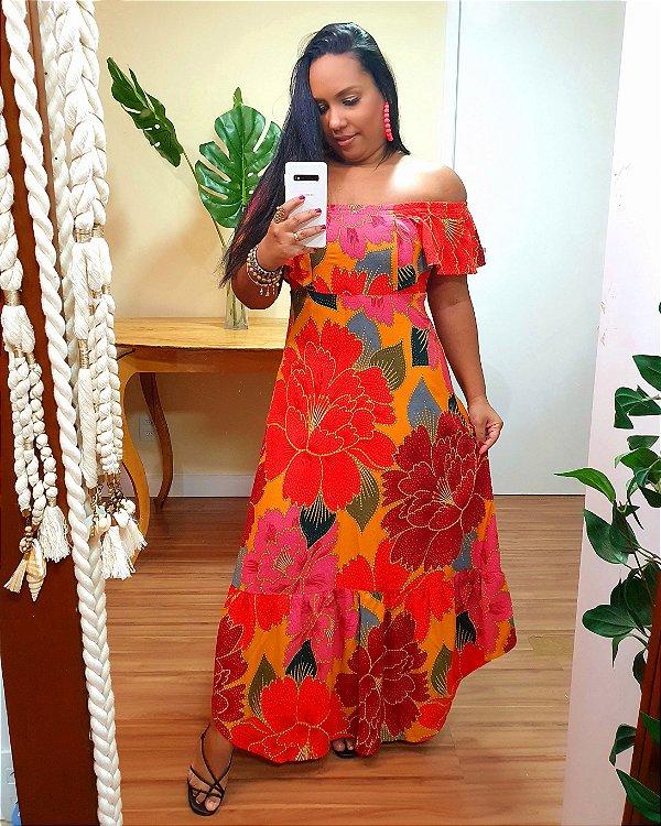 Vestido Farm Cropped Chita Solar - Exclusivo de multimarca