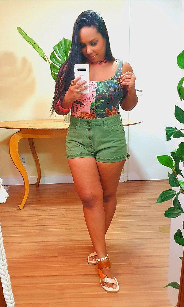 Short Dress to Color Verde Coco