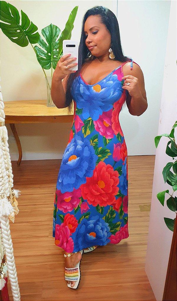 Vestido Farm Gode Bela Chita
