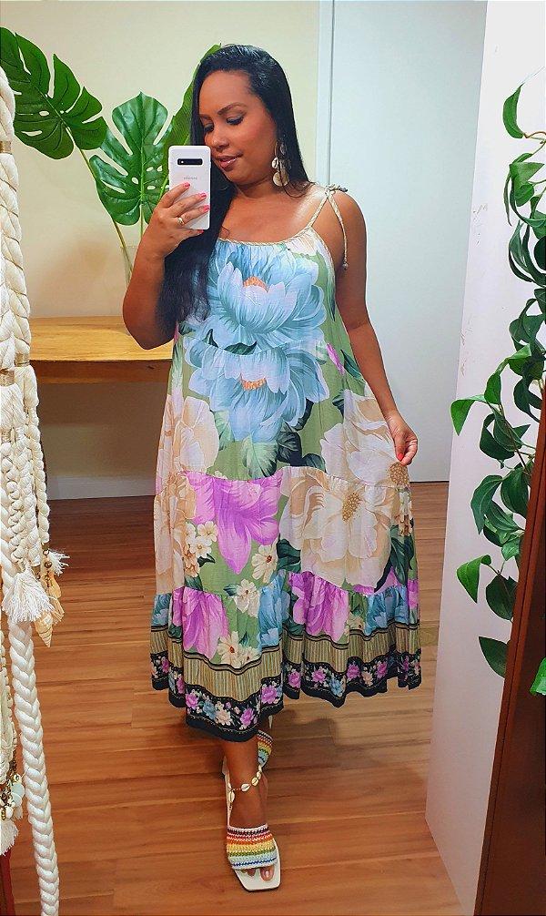 Vestido Farm Midi Liz