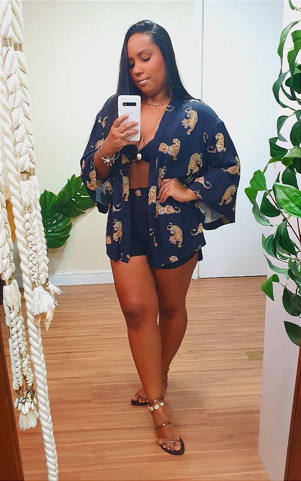 Kimono Dress to Estampa Oncita Oncita