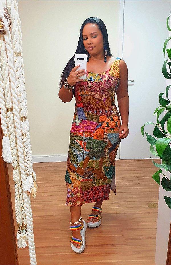 Vestido Regata Prainha Farm