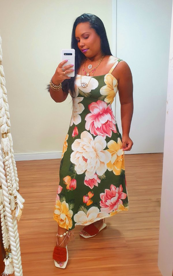 Vestido Ribana Chitaju Farm