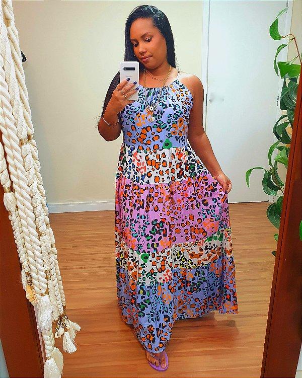 Vestido Onça Colors JOY
