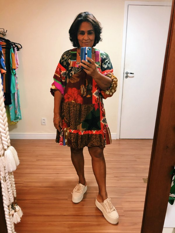 Vestido Estampa Patch  Dress To