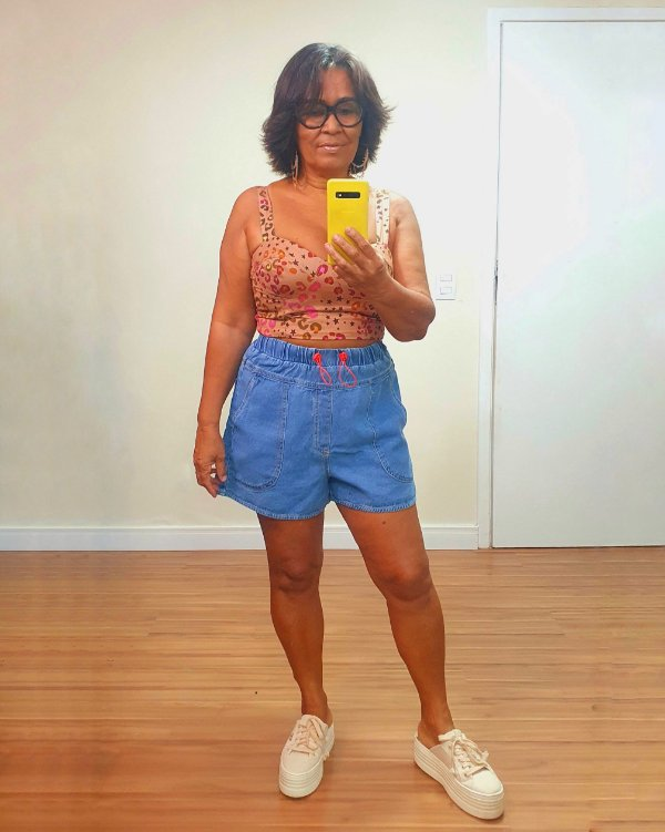 Short Jeans Bolsos Dress To