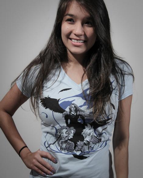 Camiseta Feminina Final Fantasy VII